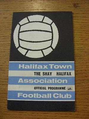 26/11/1965 Halifax Town v Doncaster Rovers  . No obvious faults, unless descript