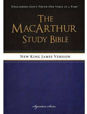 NKJV, The MacArthur Study Bible, Hardcover Revised and   Update... 9781418550356