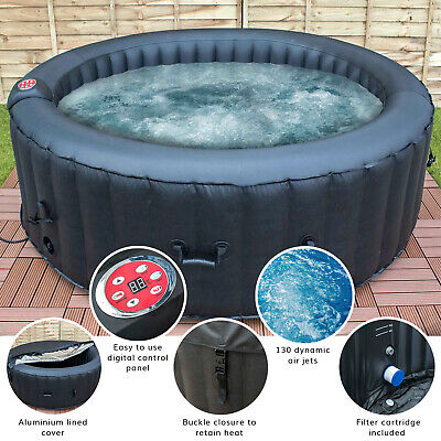Airwave Aruba Inflatable Portable Hot Tub Jacuzzi Spa - 6 Person - 130 jets