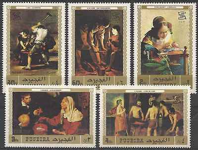 Timbres Arts Tableaux Fujeira 131/PA75 ** lot 27697