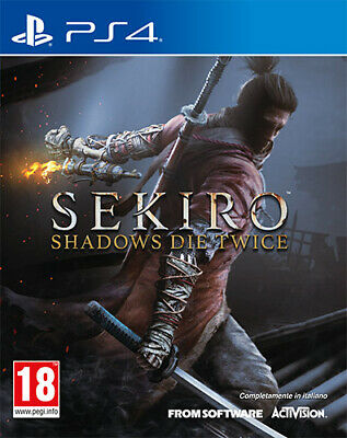 Sekiro Shadows Die Twice PS4 Playstation 4 ACTIVISION BLIZZARD
