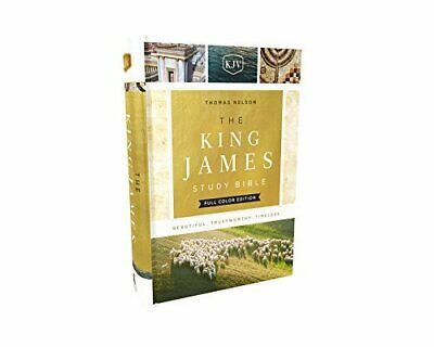 KJV, The King James Study Bible Full-Color Edition (Cloth Over Board)
