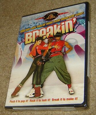 Breakin (DVD, 2003), NEW & SEALED, REGION 1, STANDARD VERSION, VERY RARE & OOP