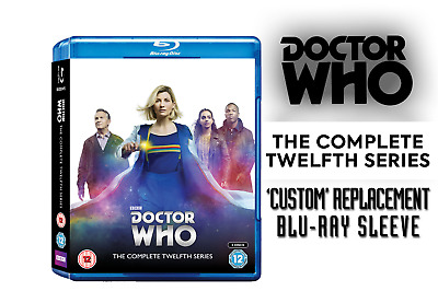 Doctor Who - Custom Blu-Ray Replacement Covers *ONLY*