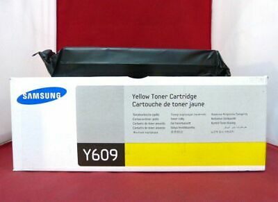 CLT-Y609S Y609 Genuine New Samsung Yellow Toner CLP-770ND CLP-775ND !