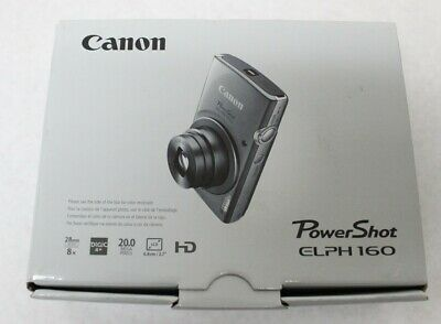 "Canon PowerShot Elph 160 20.0 MP 2.7"" LCD Digital Camera Red New Free Shipping"
