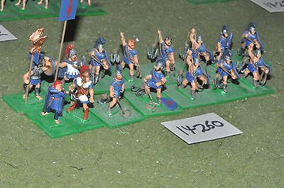 25mm classical / greek - ancient sailors 15 figs - inf (14260)