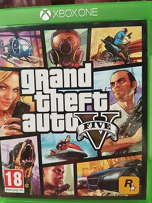 Jeu Xbox One Grand Thef Auto 5 GTA V