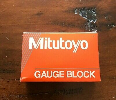 Mitutoyo Steel Rectangular GAUGE BLOCK Gage 611516-551 Grade AS-2, 1.6 mm