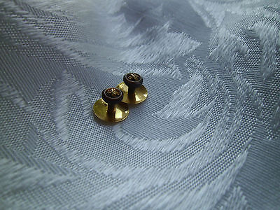 Antique Edwardian Victorian  Shirt studs,9 ct  GOLD Jewelry