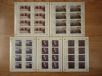 Lot 534 Timbres Stamp Revolutions Urss Russia Annee 1987