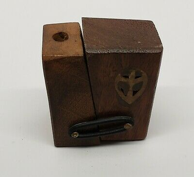 Exotic Wood Pipe, FOLDING PIPE, RARE TOBACCO PIPE - Free Shipping USA