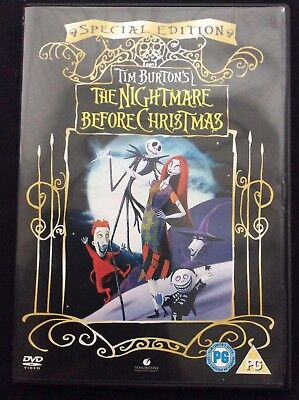 Tim Burton's - The nightmare before Christmas -  special edition - dvd