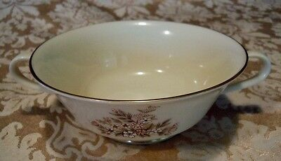 Lenox China Footed Cream Soup Bowl/Cup Medley Pattern