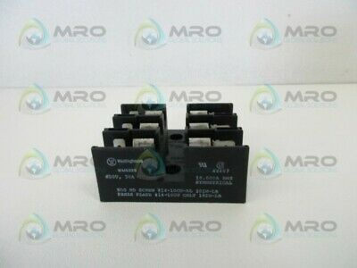 Westinghouse Wm633G Fuse Block * Used *