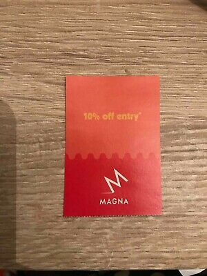 Magna Science Adventure Centre  Voucher