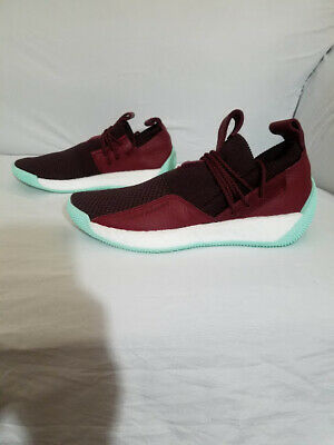 906dd789abc NEW ADIDAS HARDEN LS 2 LACE Night Red Noble Maroon Clear Mint CG6277 Men s