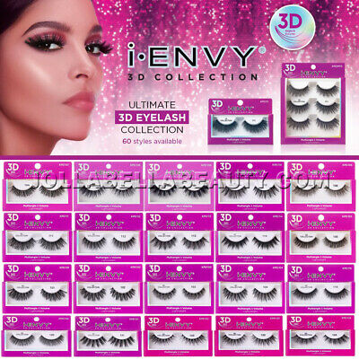 59d7b3ce019 i Envy Kiss 3D Lash Collection Volume Lightweight False Eyelashes Makeup  *1Pair