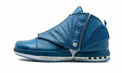 buy popular f895e b7050 New Air Jordan 16 XVI Retro Trophy Room French Blue size 13 854255 416