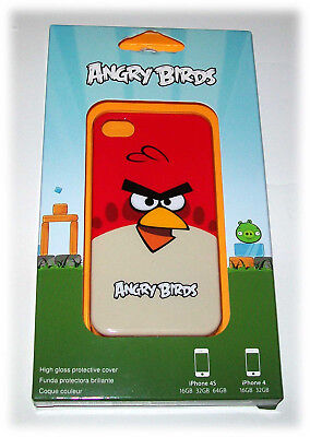 * ORIGINAL GENUINE from Target: Big Red Angry Birds COVER for iPhone 4 16GB 32GB