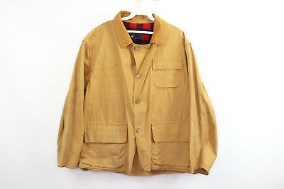 c8b96a31c4317 Vintage 60s Red Head Brand Mens Large Outdoor Birding Hunting Duck Jacket  Tan