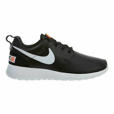 7685d7d6a886 Nike Roshe One Premium Just Do It Womens 833928-008 Black White Shoes Size 9