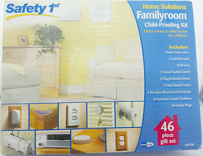Safety 1st Home Solutions Familyroom Child-proofing Kit - 46 piece Gift Set