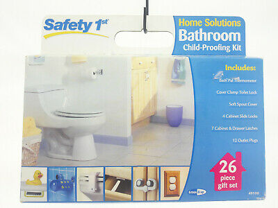 Safety 1st Home Solutions Bathroom Child-proofing Kit - 26 piece Gift Set