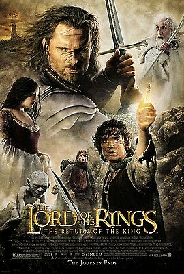 Lord Of The Rings movie poster : Return Of The King : 11 x 17 inches (v2)