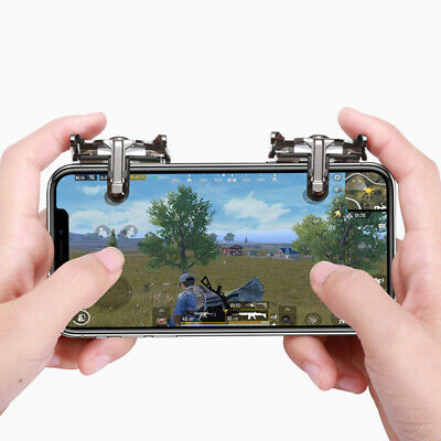 Metal PUBG Mobile Phone Gaming Trigger Fire Button Handle For Shooter Controller