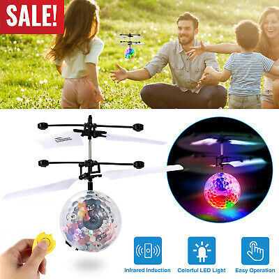 Toys for Boys Flying Ball LED 3 4 5 6 7 8 9 10 11Year Old Age Xmas Kid Cool Gift