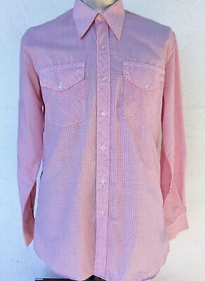 Men's Western shirt by 'R.M Williams' Long Horn, size XL