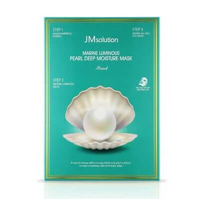 [JM Solution] Marine Luminous Pearl Deep Moisture Mask 10pcs / Korean Cosmetics