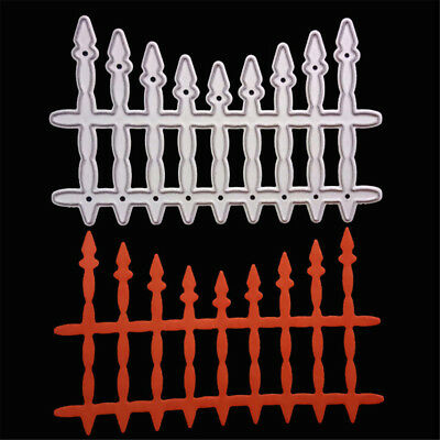 Fence Metal Cutting Dies Stencils For Scrapbooking DIY Paper Card Making FEH