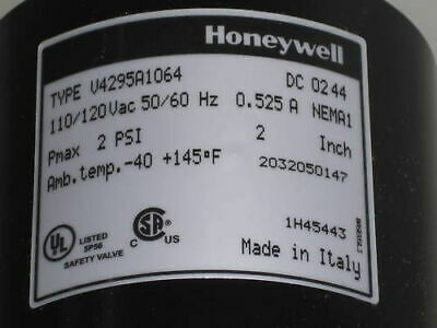 Honeywell Solenoid Gas Valves V4295A1064 *New In Box*