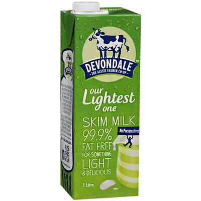 Devondale Long Life Skim Milk No Preservatives Taste Good Healthy Delicious 1L