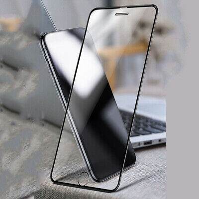 For iPhone X 6 7 8 Plus Xs Max XR Full Coverage Tempered Glass Screen Protector