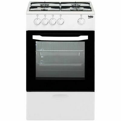 Cocina de gas Beko CSG 42009 DW Independiente Color blanco