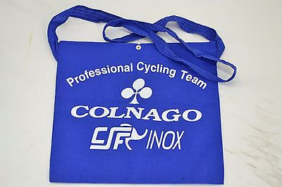 Colnago Team Inox Musette Feed Bag Made in Italy Vintage Giro D'Italia Pro-Team