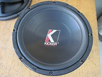 COPPIA SUBWOOFER KICKER 12c FREEAIR 4 OHM
