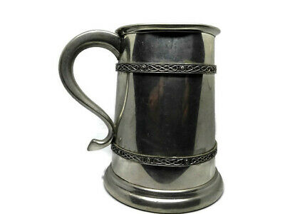 Vintage Pewter Cup English made from 1883 mug tankard antique water