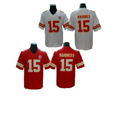 1cc8ab820d2 NEW STITCHED PATRICK Mahomes Kansas City Chiefs Men's Red Jersey S ...