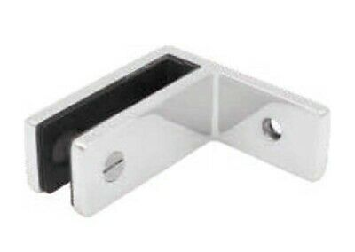 Stainless Steel Wall to Glass Balustrade Stiffener / Clamp 10-12mm - Duplex