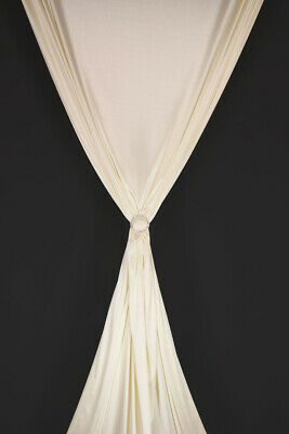Marquee Fabric Lining Fire Retardant Displays Draping Backdrops off WHITE