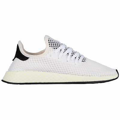 01c5712fc9a72 adidas Originals Deerupt Runner Men s Chalk White Black Black CQ2629