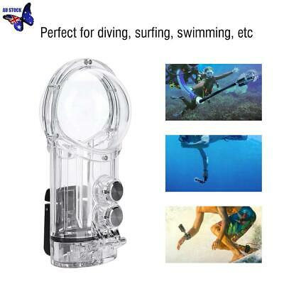 Underwater Housing Dive Waterproof Case for Insta 360 One X+Anti-fog Inserts New