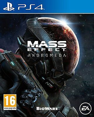* Playstation 4 NEW SEALED Game * MASS EFFECT ANDROMEDA * PS4