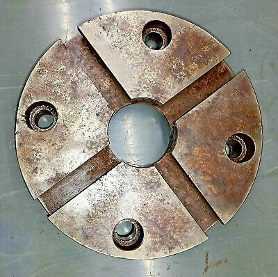 "6.5"" T slotted face plate for lathe machinist tooling"