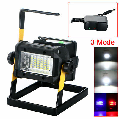 50W 3Modes 36LED Rechargeable Outdoor Waterproof Portable Floodlight US/UK/EU