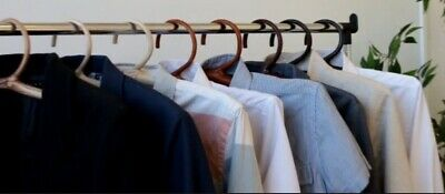 wooden clouth hangers different colors hand made exclusive